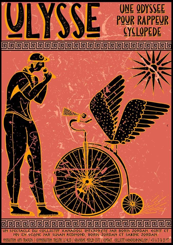 Ulysse, voyage pour un rappeur cyclopede